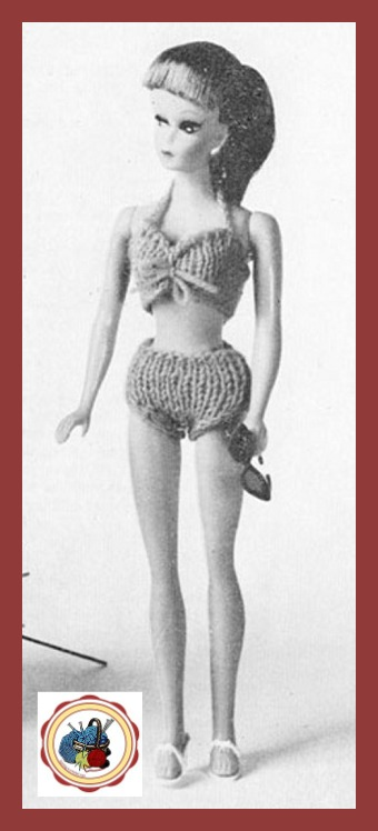 Free barbie fashion doll knits Bikini