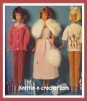 knitting Barbie doll clothes patterns