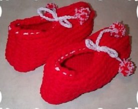 Easy Knitting Pattern For Short Row Slippers : EASY KNITTING PATTERN SHORT ROW SLIPPERS   KNITTING PATTERN