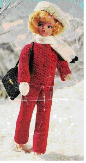 Free Barbie Knitting Patterns Doll Knitting Patterns