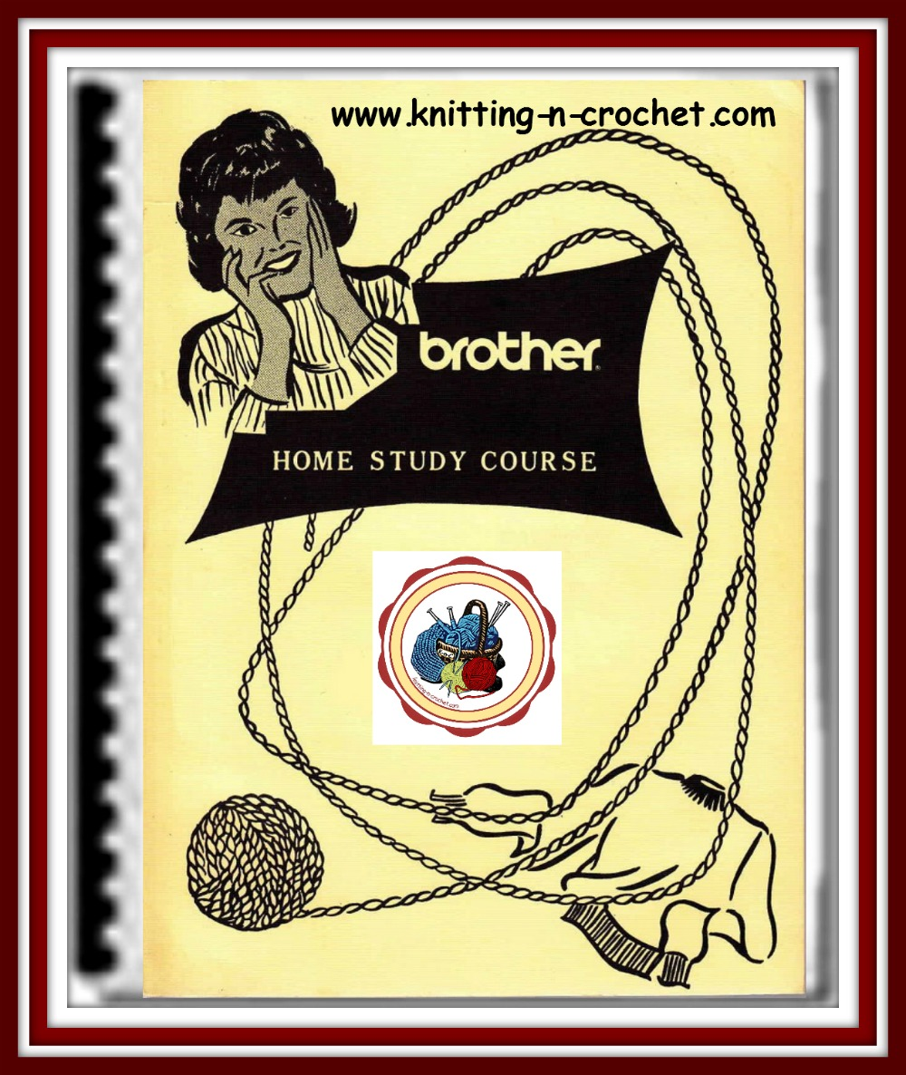 12 Brother Knitting Machine Lessons
