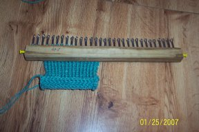 index of loom knitting help