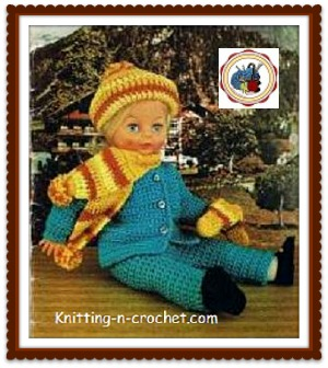 40 Crochet Doll Patterns (Clothing & Accessories) | AllFreeCrochet.com | 336x300