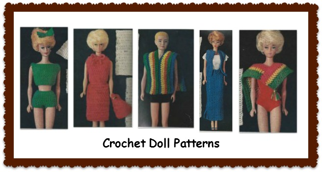 Barbie doll clothes patterns