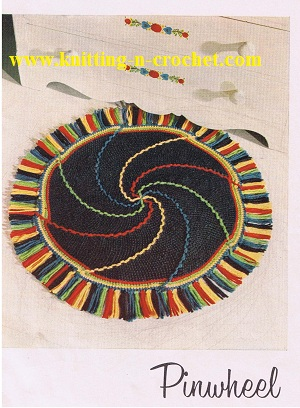 how to crochet rugs