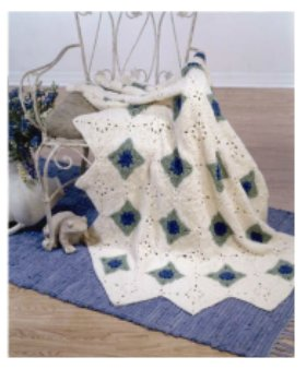 Easy Crochet Baby Blankets - How to crochet. Instructions