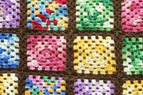Knitted Granny Square Patterns : Single crochet instructions step by step for the beginner crocheter
