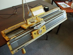 Singer LK 100 Knit Machine Instructions PART 1 of 2 - YouTube