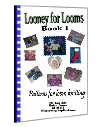 Free Knitting Loom Instructions Including Loom Knitting Slippers For