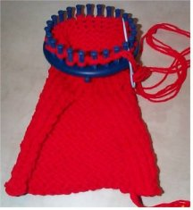 How to loom knit