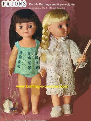 Free LACY DRESS CROCHET Pattern for American Girl Dolls Crochet