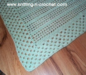 Easy Crochet Baby Blanket by Crochet Hooks You. - YouTube