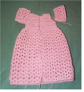 Free crochet doll patterns this is an easy baby doll dress free crochet doll patterns dt1010fo
