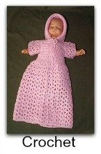 Crochet Patterns Online : Free Doll Making Projects and Doll Patterns at AllCrafts