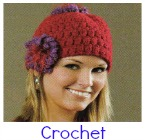 vintage crochet hat pattern
