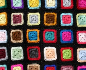 Free Crochet Patterns: Six Inch Granny/Afghan Square Motifs