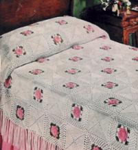 Bedspreads to Knit  Crochet - 14 PATTERNS!