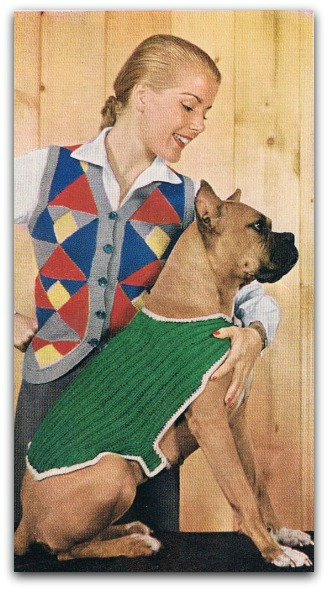 Unusual Dog Sweater Pattern Easy Knitting