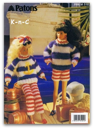 Barbie doll universal fashion knits