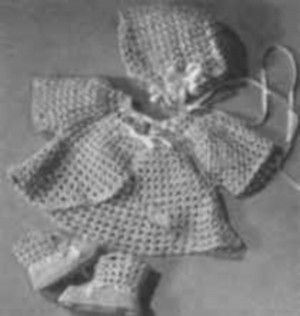 Baby Bonnet Pattern - Crochet - PicotNet - Tattered