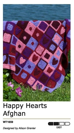 Treasured Afghans to Crochet, Red Heart patterns | eBay
