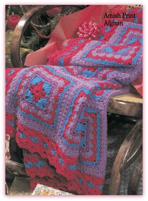 Amish Quilt Patterns Designed For An Afghan