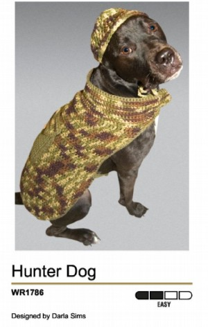Crocheted Dog Sweaters - Make Dog Stuff, Build Dog Stuff