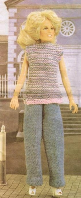 FREE KNIT DOLL PATTERNS