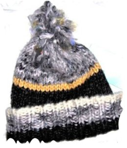hat knit pattern