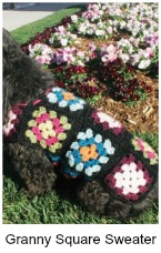 Granny square sweater - If you think granny squares are