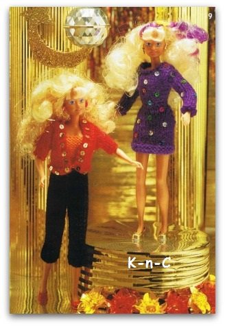 Knits in fashion for Barbie Dolls