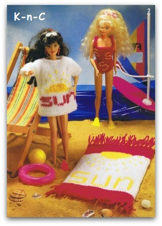 Fashion Knits for Barbie dolls