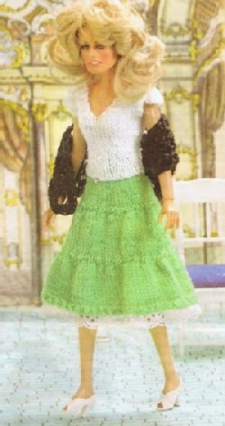 Paradise Crochet Instruction Patterns, Barbie Sized Fashion Doll