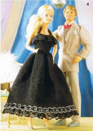 Free Knitted Doll Patterns Clothes For The Fashion Doll