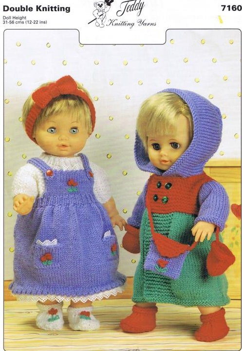 Knitting Patterns For Baby Dolls Clothes Old Style : Knitted Doll Clothes Patterns 12 Inch Dolls - White Polo Sweater