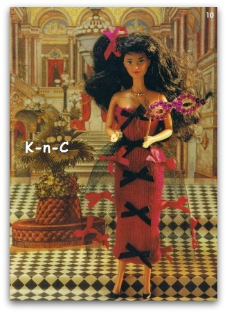 Barbie fashion doll knits