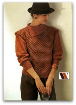 Knitting pattern sweater