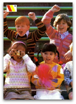 Childrens knitting machine patterns