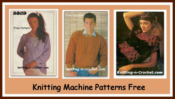 Knitting Machine Patterns Free Colleciton