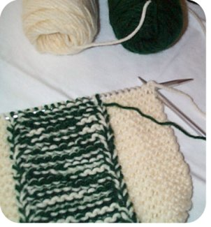 free easy knit slipper patterns