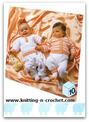 Baby knit patterns in Brother ebooks