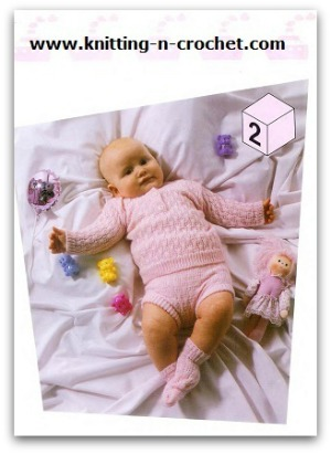 Beautiful Machine Knitting Baby Patterns By Brother