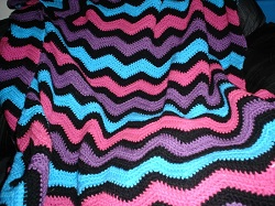 Free ripple afghan patterns crochet free ripple afghan pattern crochet for beginners dt1010fo