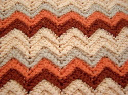 Abc Knitting Patterns Lace Ripple Afghan : Ripple Afghan Many Free Patterns Issue #036