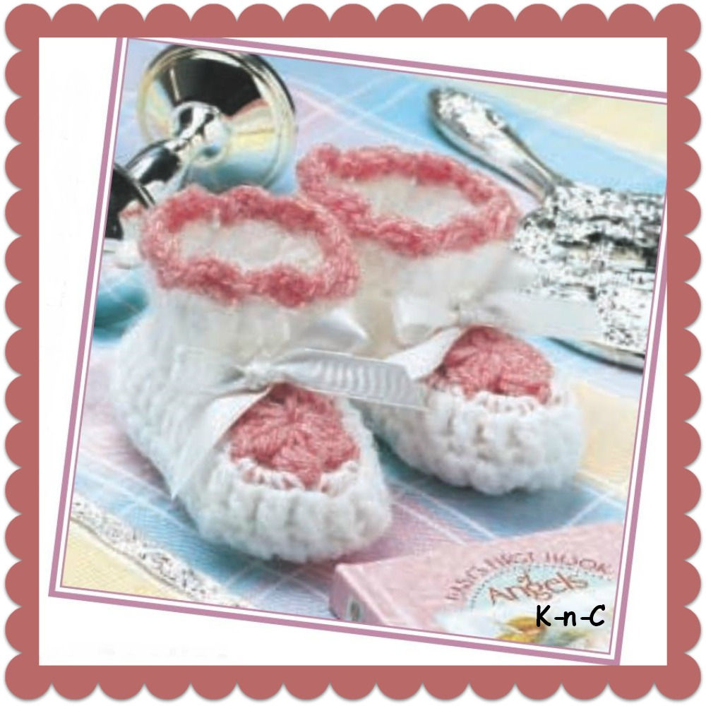 rose toestepper booties crochet pattern