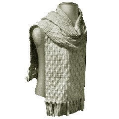 Dirty Dawg Crochet: Hooded Scarf