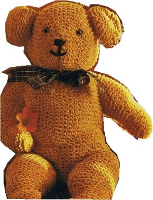 Crochet Spot » Blog Archive » Free Crochet Pattern: Teddy Bear