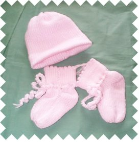 Knitting Pattern Central - Free Baby Clothing Knitting Pattern