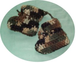 Charity Pattern - Preemie Present Hat & Easy DC Booties