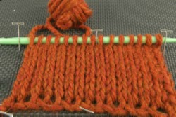 Tunisian crochet stitch